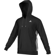adidas Men's Sport Essential Hoody - Black/White