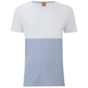 BOSS Orange Men's Tuomo Striped T-Shirt - White