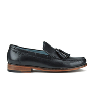 Genuine Moccasins by Grenson Men's Tassle Loafers - Black