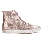 Ash Women's Virgin Metal Rock Hi-Top Trainers - Rame