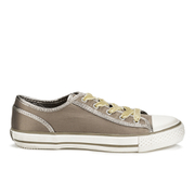 Ash Women's Viper Satin Low Top Trainers - Taupe