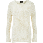 VILA Women's Lead Knitted Jumper - Pristine