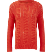 VILA Women's Grow Knitted Jumper - Grenadine
