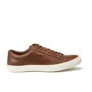Polo Ralph Lauren Men's Geffrey Canvas/Leather Trainers - Polo Tan