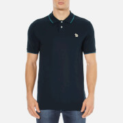 Paul Smith Jeans Men's Zebra Tipped Polo Shirt - Navy