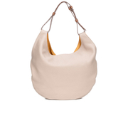 Paul Smith Accessories Women's Medium Leather Hobo Bag - Cream