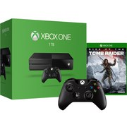 Xbox One 1TB Console - Includes Rise of the Tomb Raider & Extra Wireless Controller