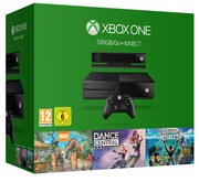 Xbox One 500GB Console with Kinect - Includes 3 Games