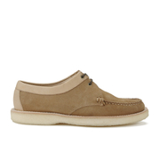 Bass Weejuns Men's Crepe Tie Reverso Suede Moccasins - Earth