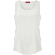 HUGO Women's Cendis Silk Vest Top - White