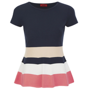 HUGO Women's Serrela Top - Navy