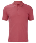 HUGO Men's Delorian Tipped Polo Shirt - Coral