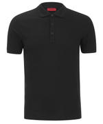 HUGO Men's Nono Plain Polo Shirt - Black