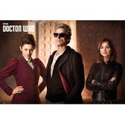 Doctor Who Iconic - 24 x 36 Inches Maxi Frame