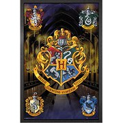 Harry Potter Crests - Framed Maxi Poster