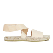 Prism Women's Naxos Ankle Strap Leather Sandals - Natural