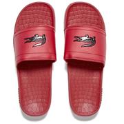 Lacoste Men's Frasier Slide Sandals - Red/Black