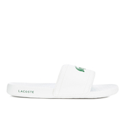 Lacoste Men's Frasier Slide Sandals - White/Green