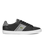 Lacoste Men's Fairlead 116 1 Leather Trainers - Black