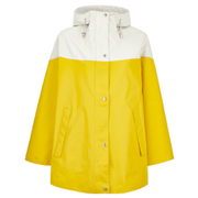 Ilse Jacobsen Women's Contrast Cape - Cyber Yellow