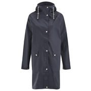 Ilse Jacobsen Women's Patch Pocket Raincoat - Dark Indigo