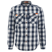 Superdry Men's Rookie Flannel Shirt - Navy