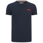 Superdry Men's Orange Label Vintage Embroidery T-Shirt - Royal Blue/ Red