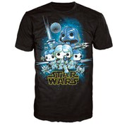 Star Wars A New Hope Poster Pop! T-Shirt - Black