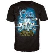 Star Wars A New Hope Poster Pop! T-Shirt - Black