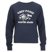 OBEY Clothing Women's Obey Posse Crew Sweatshirt - Navy
