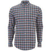 Lacoste Men's Oxford Checked Long Sleeve Shirt - Multi