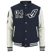 Billionaire Boys Club Men's B Baseball Jacket - Navy Blazer