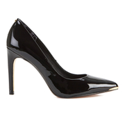Ted Baker Women's Neevo 4 Patent Leather Court Shoes - Black
