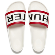 Hunter Women's Original Slide Sandals - White
