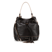 Coccinelle Women's Jessie Leather Bucket Bag - Black