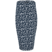 The Fifth Label Women's Basic Instinct Skirt - Geographic Blue Print