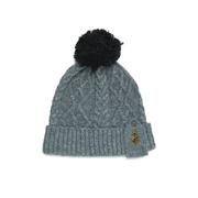 Luke Men's Birdy Bobble Hat - Marle Grey