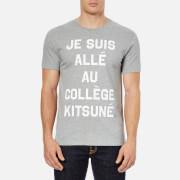 Maison Kitsuné Men's Je Suis Alle T-Shirt - Grey Melange