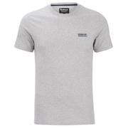Barbour International Men's Small Logo T-Shirt - Grey Marl