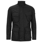 Barbour International Men's Selkirk Wax Jacket - Black