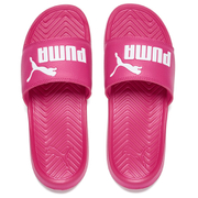 Puma Women's Popcat Slide Sandals - Pink/White