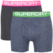 Superdry Men's Double Pack Boxer Shorts - Multi