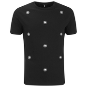 Versus Versace Men's Embellished Crew Neck T-Shirt - Black