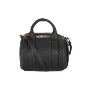 Alexander Wang Women's Rockie Pebble Lamb/Antique Brass Bag - Black