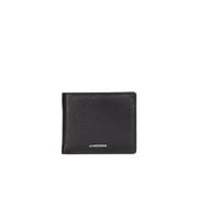 J.Lindeberg Men's Bi-Fold Leather Wallet - Black