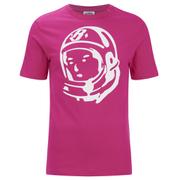 Billionaire Boys Club Men's Classic Helmet Logo T-Shirt - Raspberry