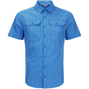 The North Face Men's Pine Knot Shirt - Bomber Blue Plaid