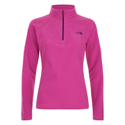 The North Face Women's Glacier Quarter Zip Fleece - Raspberry Rose