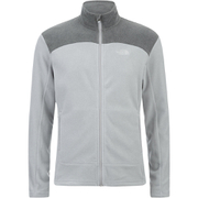 The North Face Men's Glacier Full Zip Jacket - TNF Light Grey