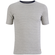 Armor Lux Men's Zig Zag T-Shirt - Rich Navy/Zand